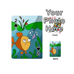 Fish and worm Playing Cards 54 (Mini)