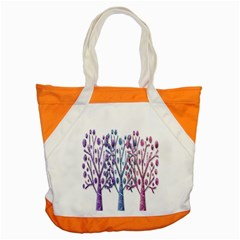 Magical pastel trees Accent Tote Bag