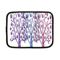 Magical pastel trees Netbook Case (Small)