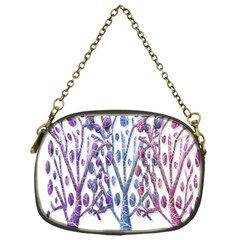 Magical pastel trees Chain Purses (One Side)