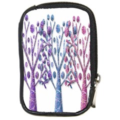 Magical Pastel Trees Compact Camera Cases
