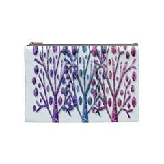 Magical pastel trees Cosmetic Bag (Medium)