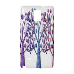 Magical pastel trees Samsung Galaxy Note 4 Hardshell Case