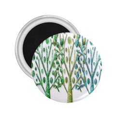 Magical green trees 2.25  Magnets