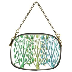 Magical green trees Chain Purses (One Side)