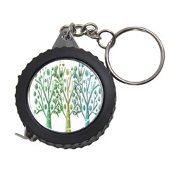 Magical green trees Measuring Tapes