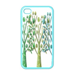 Magical green trees Apple iPhone 4 Case (Color)