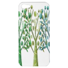 Magical green trees Apple iPhone 5 Hardshell Case