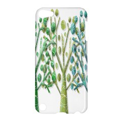 Magical green trees Apple iPod Touch 5 Hardshell Case