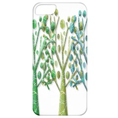 Magical green trees Apple iPhone 5 Classic Hardshell Case