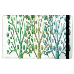 Magical green trees Apple iPad 2 Flip Case