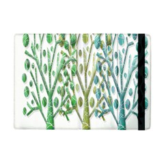 Magical green trees Apple iPad Mini Flip Case