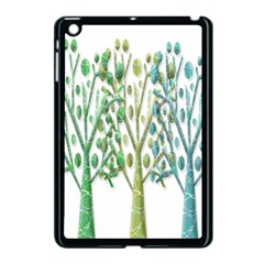 Magical green trees Apple iPad Mini Case (Black)