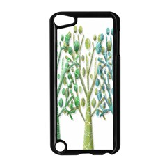 Magical green trees Apple iPod Touch 5 Case (Black)