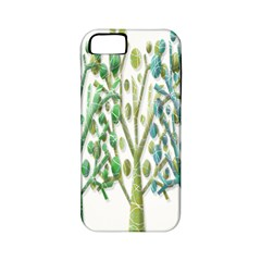 Magical green trees Apple iPhone 5 Classic Hardshell Case (PC+Silicone)