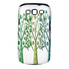 Magical green trees Samsung Galaxy S III Classic Hardshell Case (PC+Silicone)