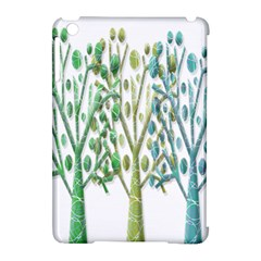 Magical green trees Apple iPad Mini Hardshell Case (Compatible with Smart Cover)