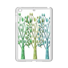 Magical green trees iPad Mini 2 Enamel Coated Cases