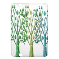 Magical green trees Kindle Fire HD 8.9