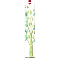 Magical green trees Large Book Marks
