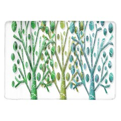 Magical green trees Samsung Galaxy Tab 10.1  P7500 Flip Case