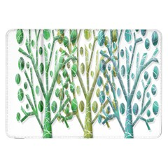 Magical green trees Samsung Galaxy Tab 8.9  P7300 Flip Case