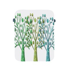 Magical green trees Apple iPad 2/3/4 Protective Soft Cases