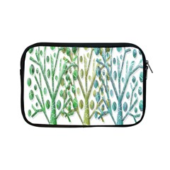 Magical green trees Apple iPad Mini Zipper Cases