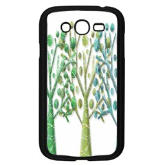 Magical green trees Samsung Galaxy Grand DUOS I9082 Case (Black)