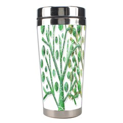 Magical green trees Stainless Steel Travel Tumblers