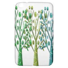 Magical green trees Samsung Galaxy Tab 3 (8 ) T3100 Hardshell Case