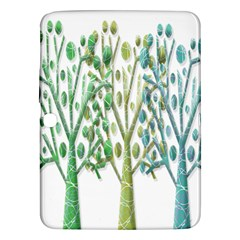 Magical green trees Samsung Galaxy Tab 3 (10.1 ) P5200 Hardshell Case