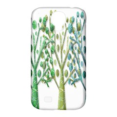 Magical green trees Samsung Galaxy S4 Classic Hardshell Case (PC+Silicone)