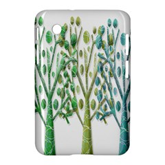 Magical green trees Samsung Galaxy Tab 2 (7 ) P3100 Hardshell Case