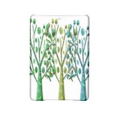 Magical green trees iPad Mini 2 Hardshell Cases