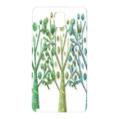 Magical green trees Samsung Galaxy Note 3 N9005 Hardshell Back Case