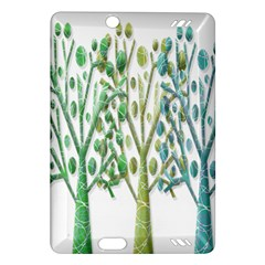 Magical green trees Amazon Kindle Fire HD (2013) Hardshell Case