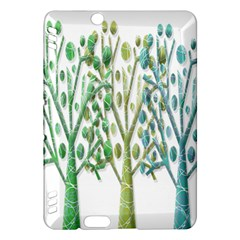 Magical green trees Kindle Fire HDX Hardshell Case