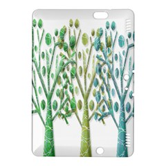Magical green trees Kindle Fire HDX 8.9  Hardshell Case