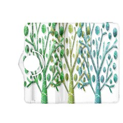 Magical green trees Kindle Fire HDX 8.9  Flip 360 Case