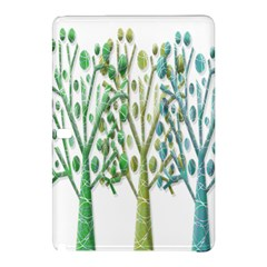 Magical green trees Samsung Galaxy Tab Pro 12.2 Hardshell Case