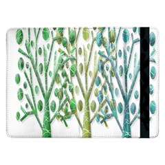 Magical green trees Samsung Galaxy Tab Pro 12.2  Flip Case