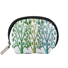 Magical green trees Accessory Pouches (Small)