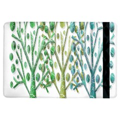 Magical green trees iPad Air Flip