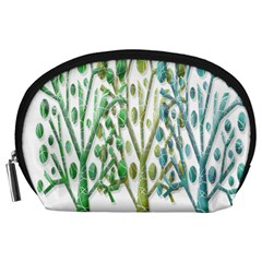Magical green trees Accessory Pouches (Large)
