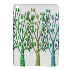 Magical green trees iPad Air 2 Hardshell Cases