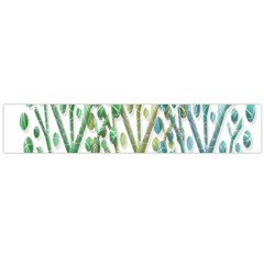 Magical green trees Flano Scarf (Large)