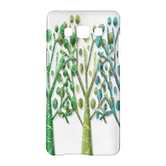 Magical green trees Samsung Galaxy A5 Hardshell Case