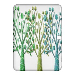 Magical green trees Samsung Galaxy Tab 4 (10.1 ) Hardshell Case