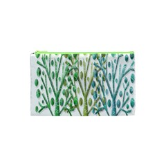 Magical green trees Cosmetic Bag (XS)